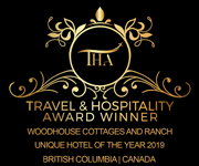 2019 Travel and Hospitality Award Winner - Woodhouse Cottages and Ranch